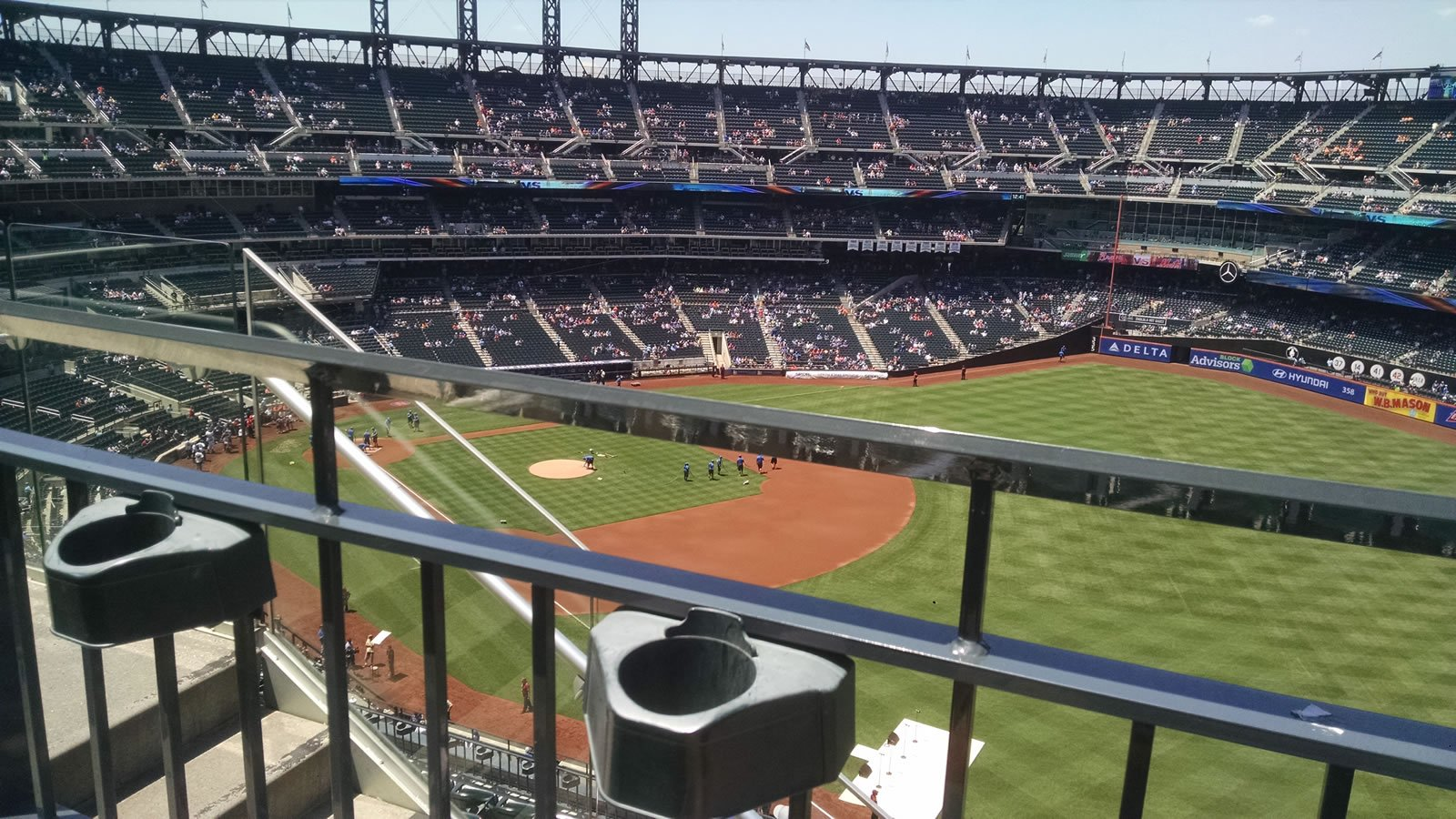 Seat View for Citi Field Section 501, Row 1, Seat 5