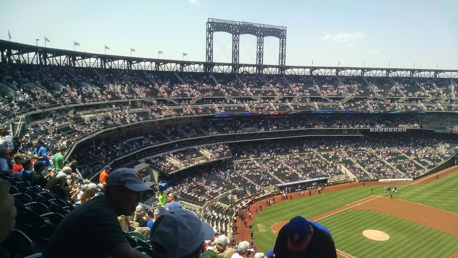 Seat View for Citi Field Section 506, Row 11, Seat 24