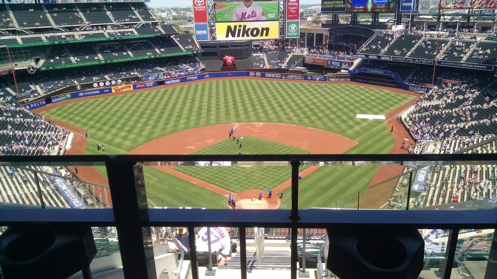 Seat View for Citi Field Section 515, Row 10, Seat 19