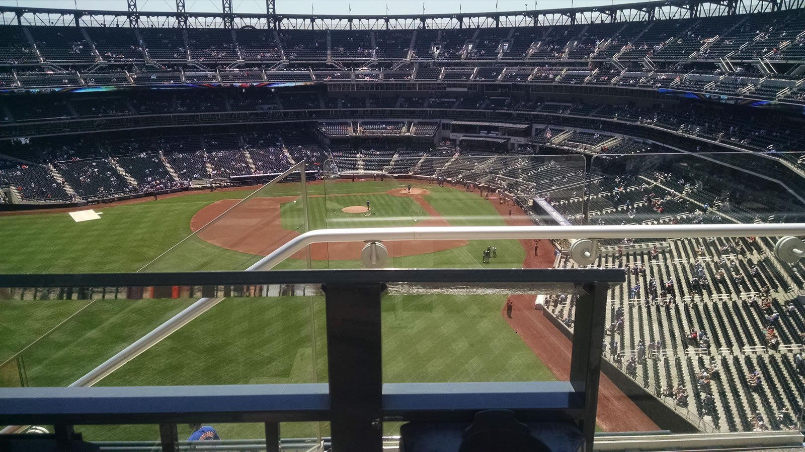 Seat View for Citi Field Section 534, Row 1, Seat 1
