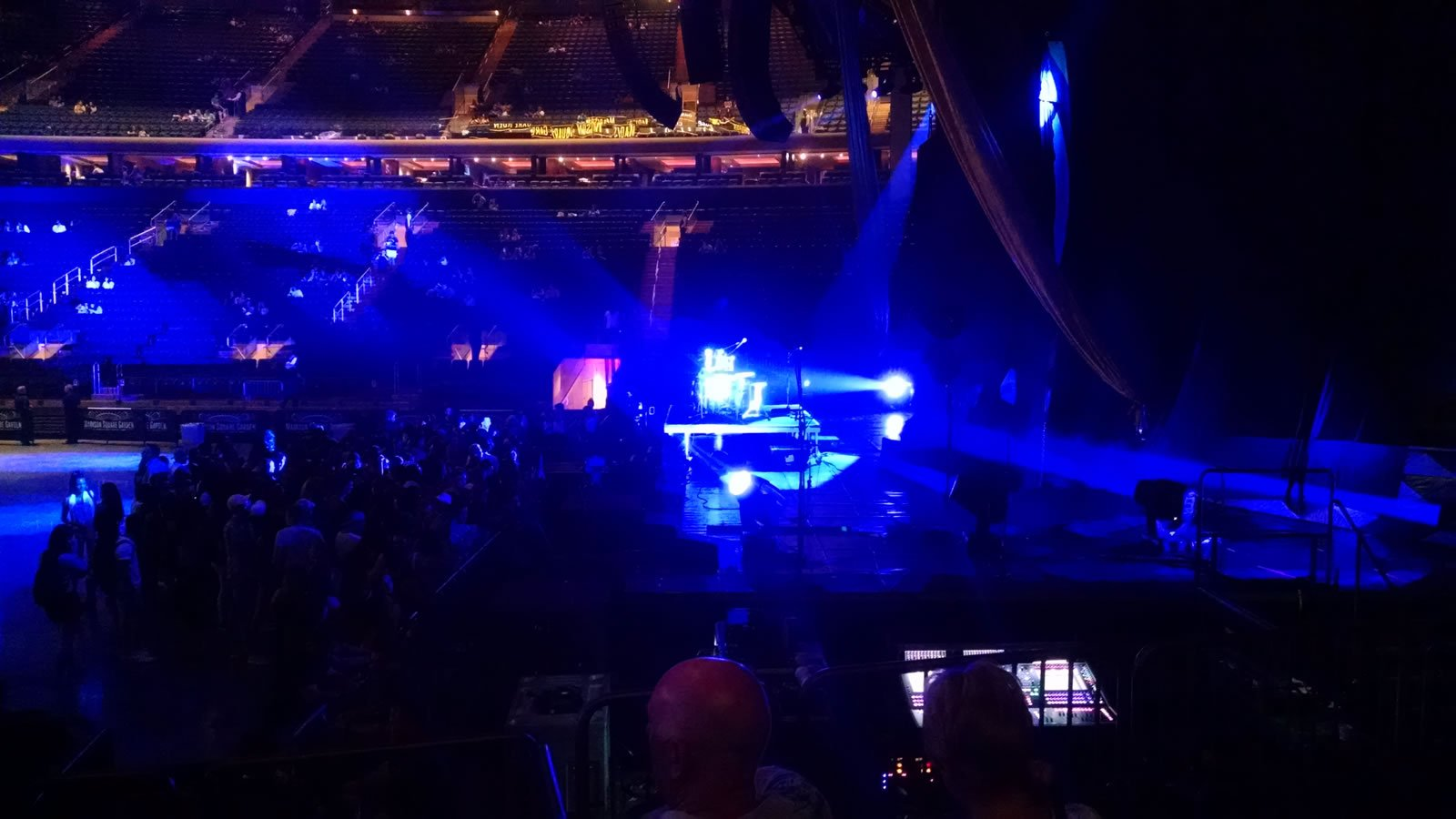 Concert Seat View for Madison Square Garden Section 109, Row 6, Seat 3