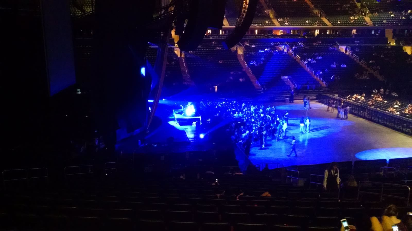 Concert Seat View for Madison Square Garden Section 115, Row 21, Seat 13