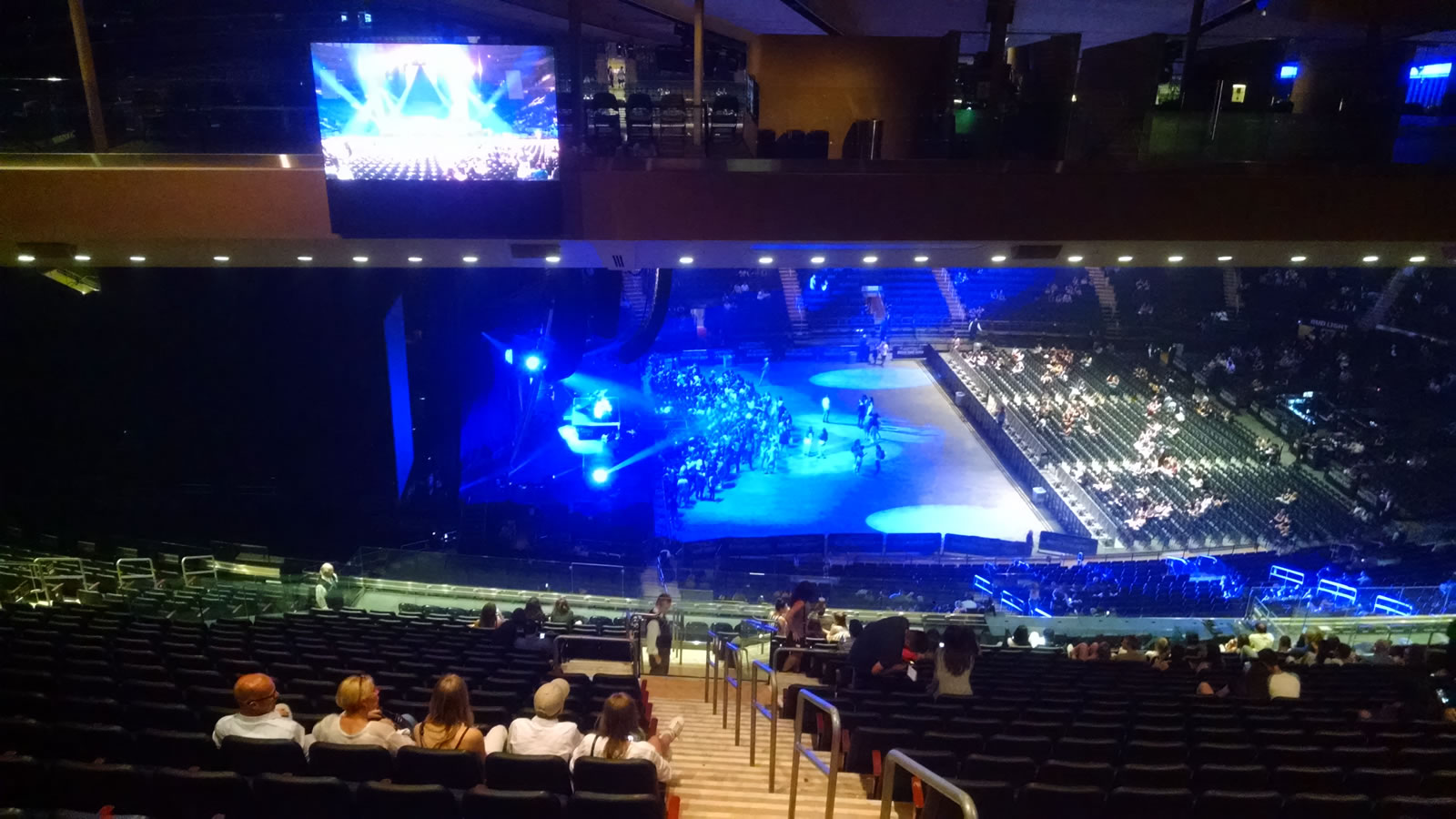 Concert Seat View for Madison Square Garden Section 222, Row 24, Seat 24