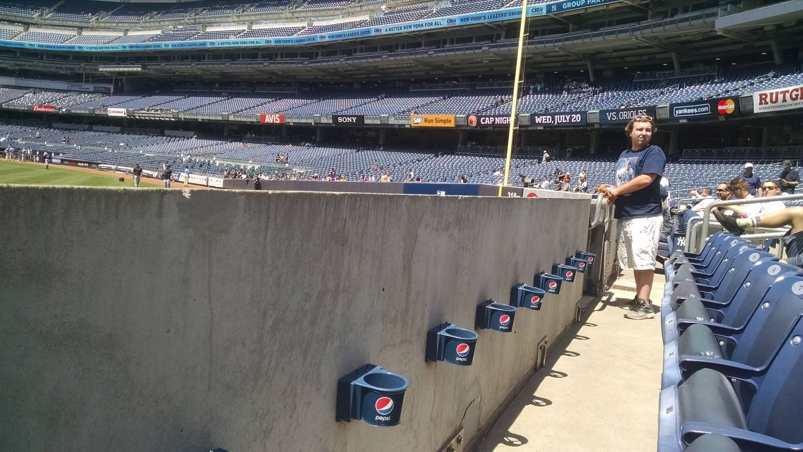 Yankee Stadium Section 136 Seats