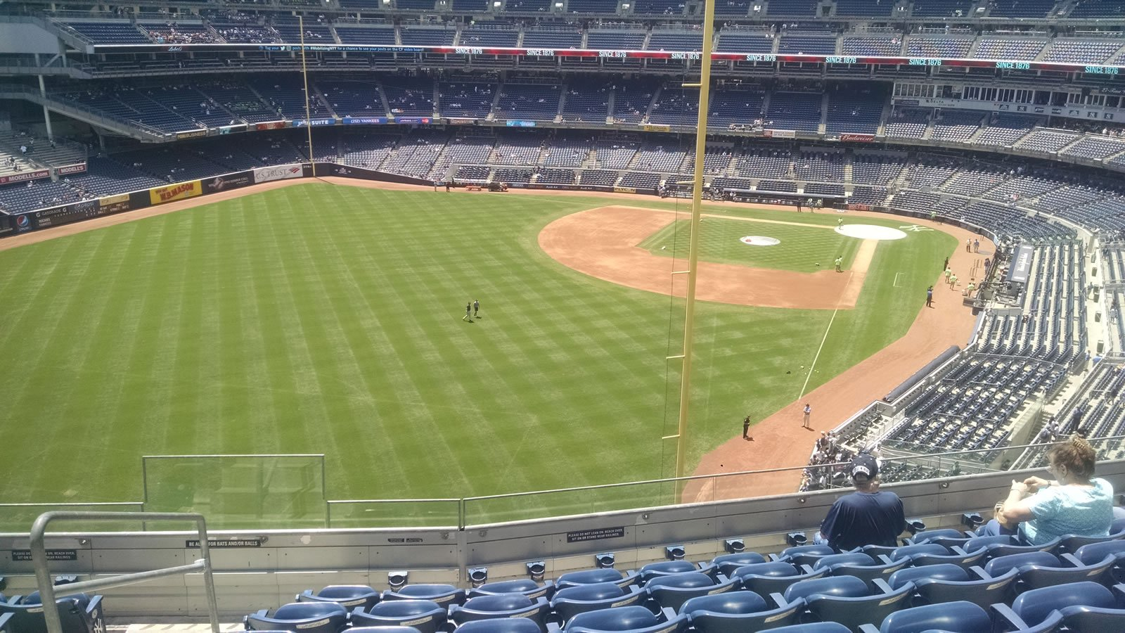 New York Yankees Seat View for Yankee Stadium Section 332B, Row 7, Seat 21