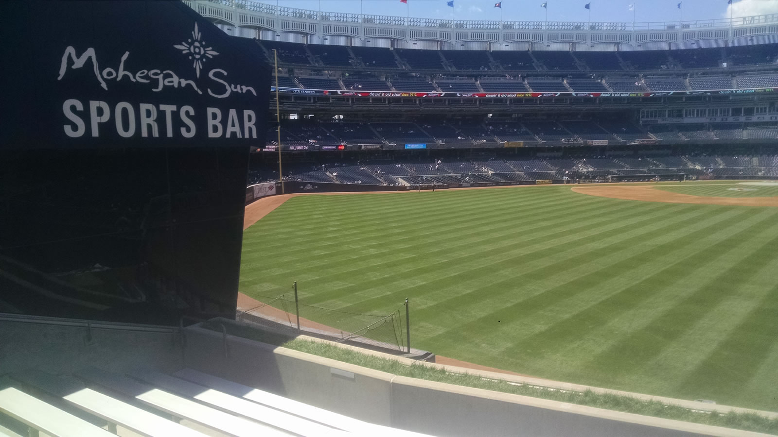 New York Yankees Seat View for Yankee Stadium Section 239, Row 9, Seat 9