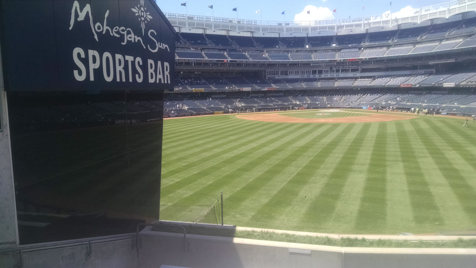 New York Yankees Seat View for Yankee Stadium Section 239, Row 9, Seat 19
