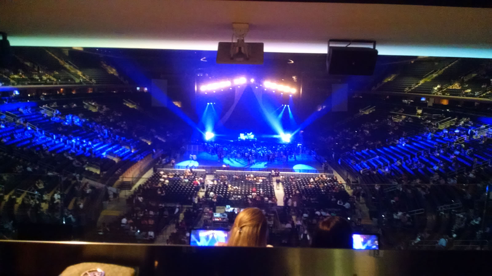 Great Bar Rail Seats For A Show Madison Square Garden Section 204 Review