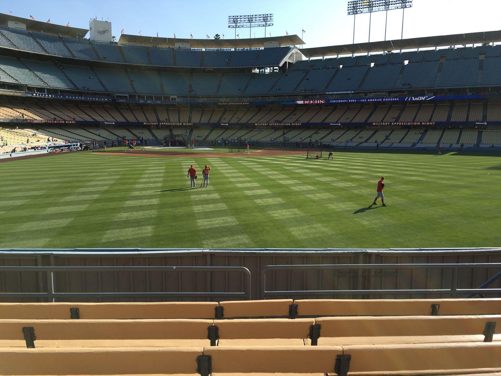 Seat View for Dodger Stadium Section 314, Row F, Seat 8