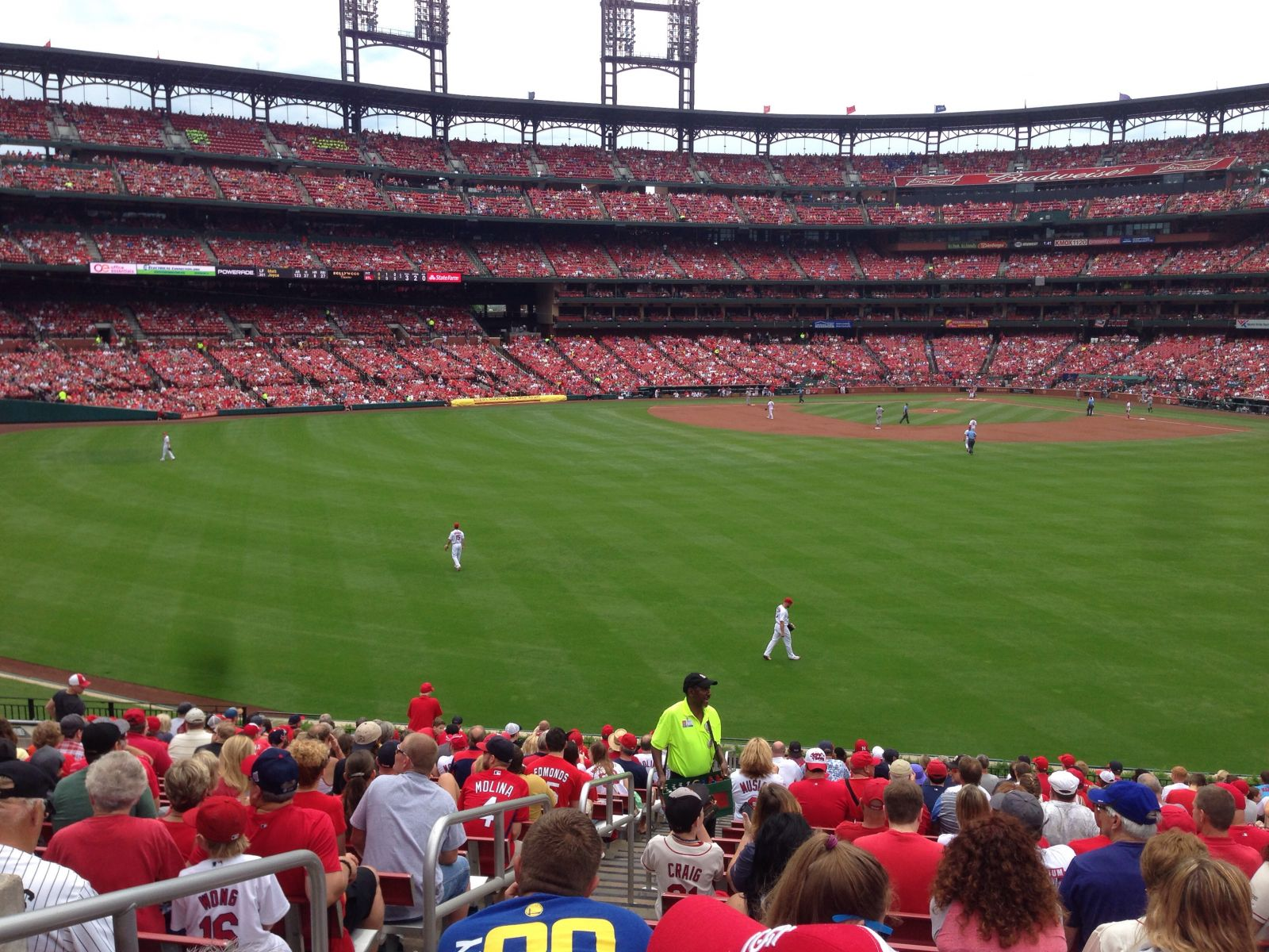 Seat View for Busch Stadium Section 195, Row 23, Seat 23