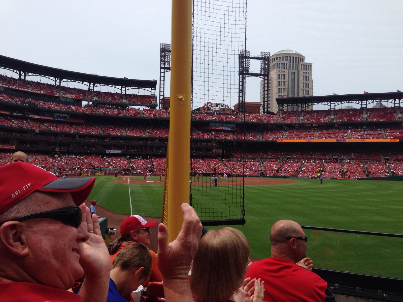 Seat View for Busch Stadium Section 131, Row 7, Seat 6