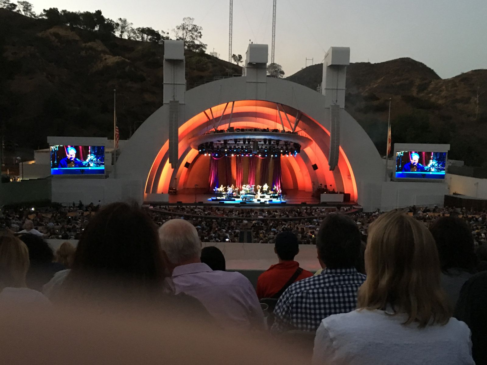 Concert Seat View for Hollywood Bowl Section J1, Row 11, Seat 18