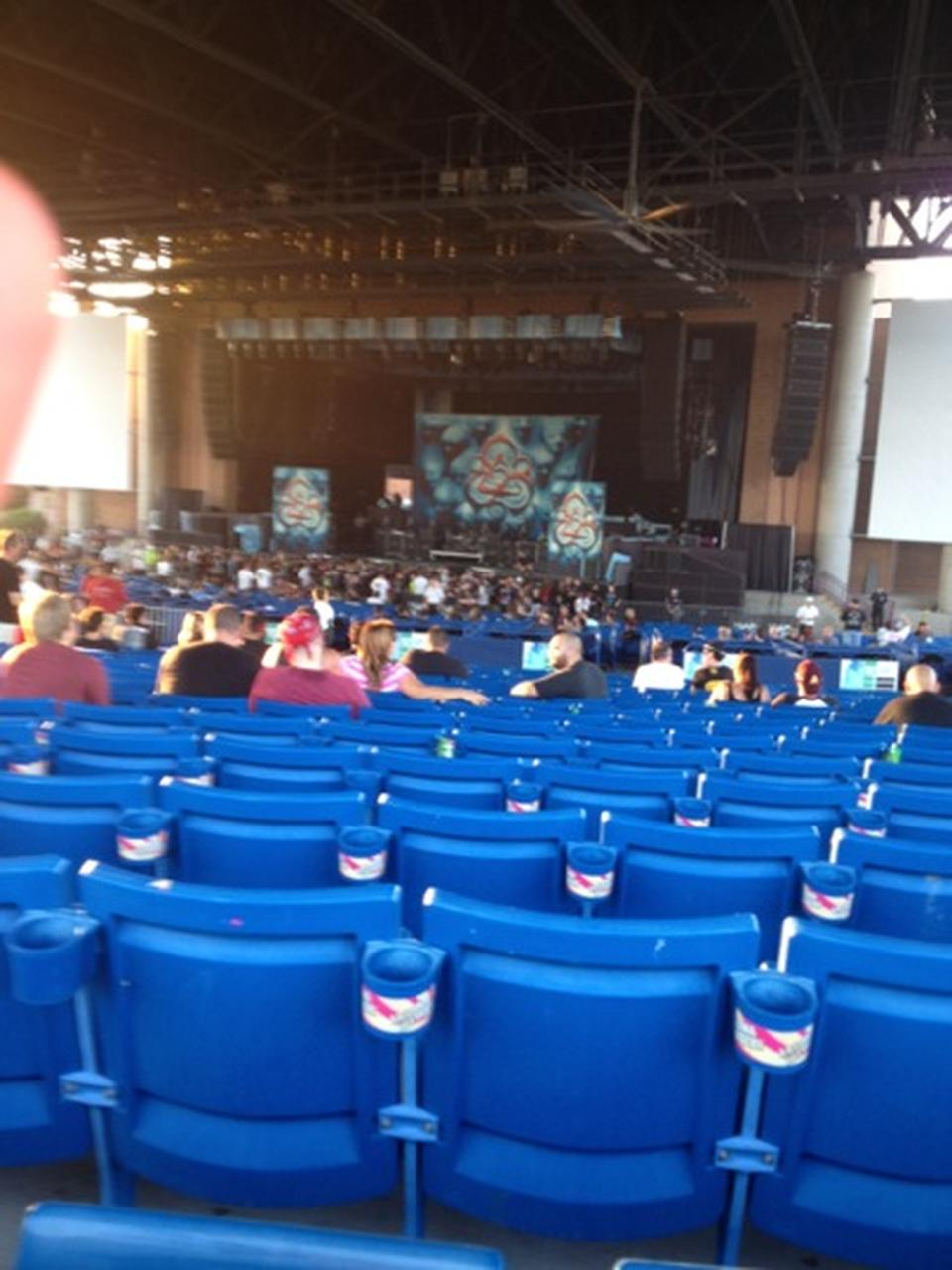 Concert Seat View for Ak-Chin Pavilion Section 202, Row YY