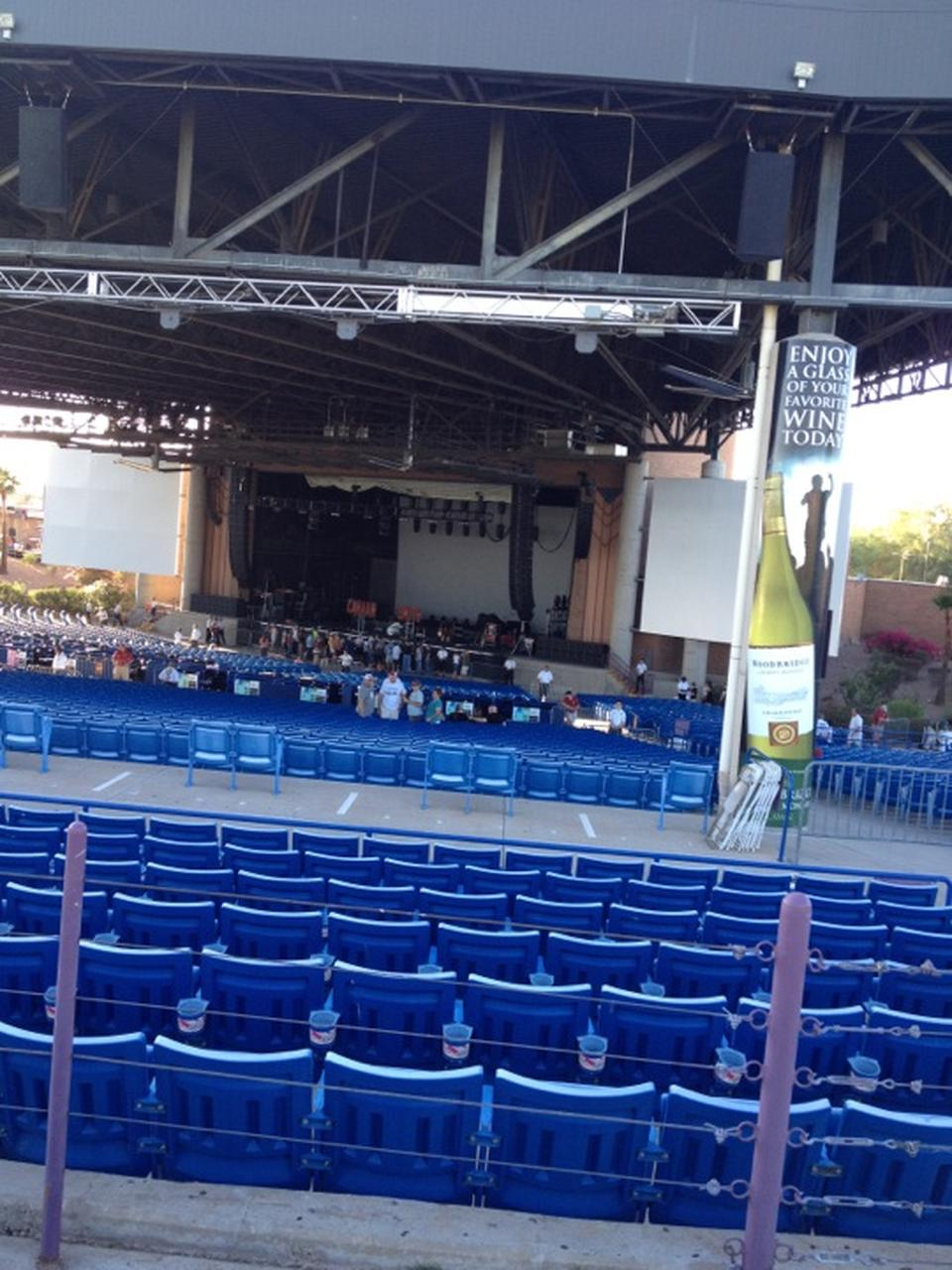Concert Seat View For Ak Chin Pavilion Section 302 Row F