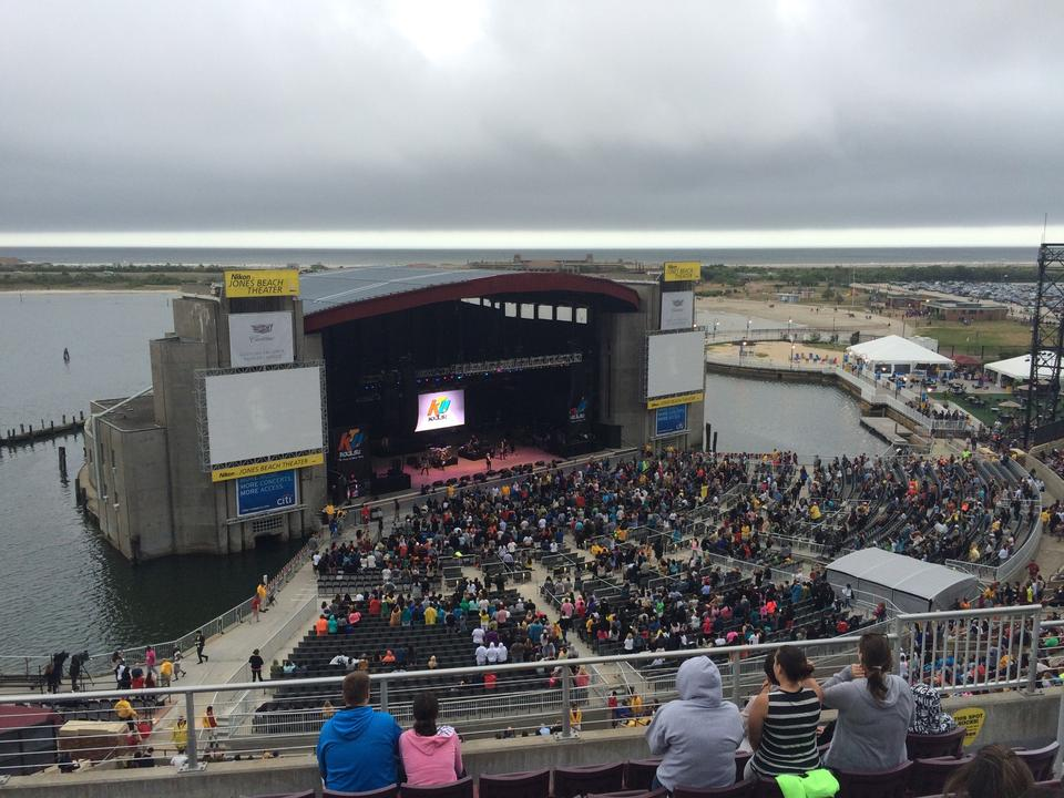 Concert Seat View For Northwell Health At Jones Beach Theater Mezzanine 26