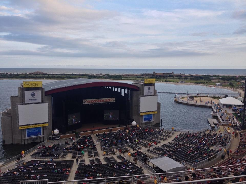 Concert Seat View For Northwell Health At Jones Beach Theater Mezzanine 24