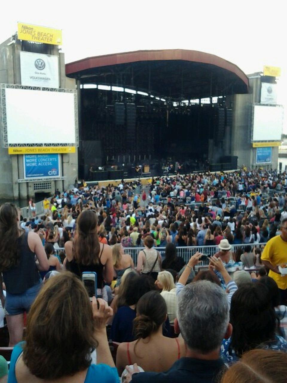 Concert Seat View For Northwell Health At Jones Beach Theater Stadium 13l Row G