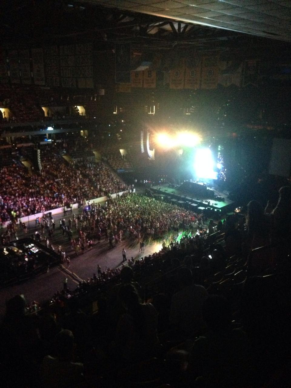 Concert Seat View For TD Garden Section 303