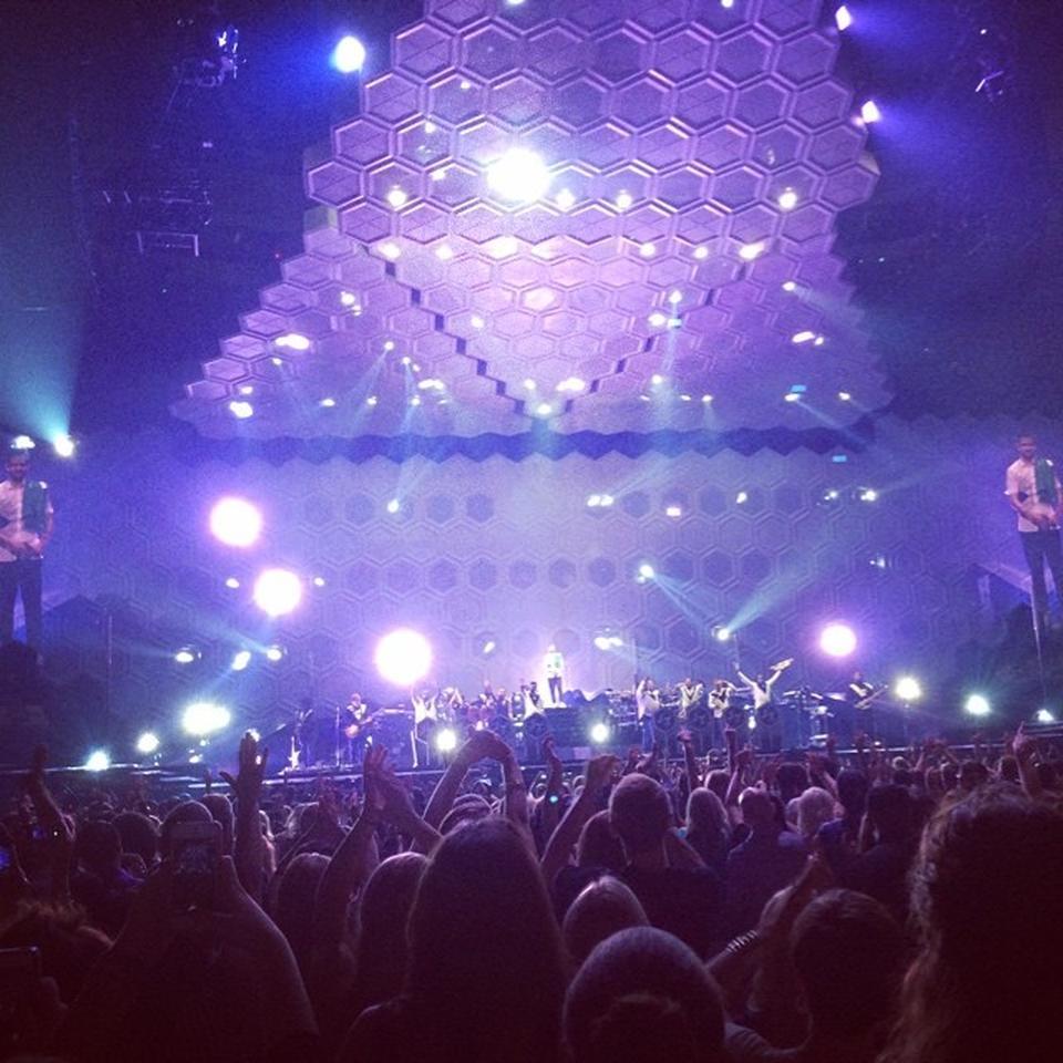 concerts at td garden. Concert Seat View For TD Garden GA Floor Concerts At Td