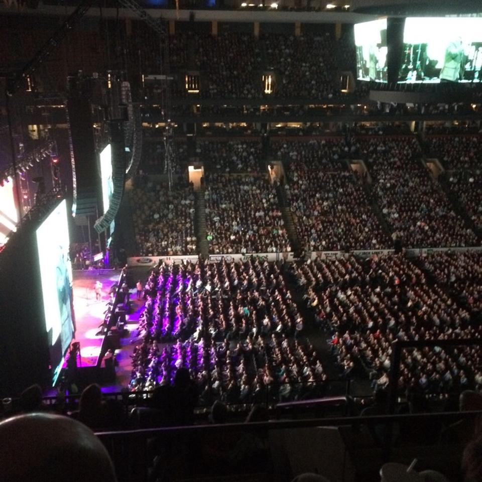 Concert Seat View For TD Garden Section 318 Design