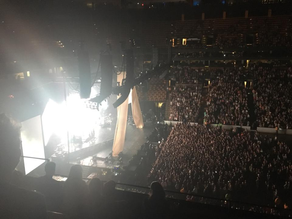 concert seat view for td garden section 317 - Td Garden Concerts