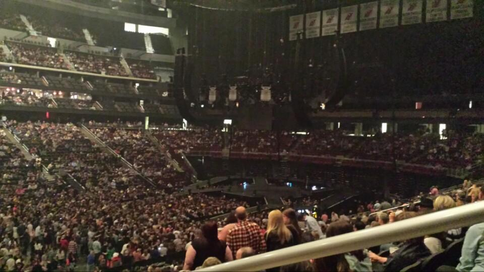 Prudential Center Section 7 Concert Seating ...