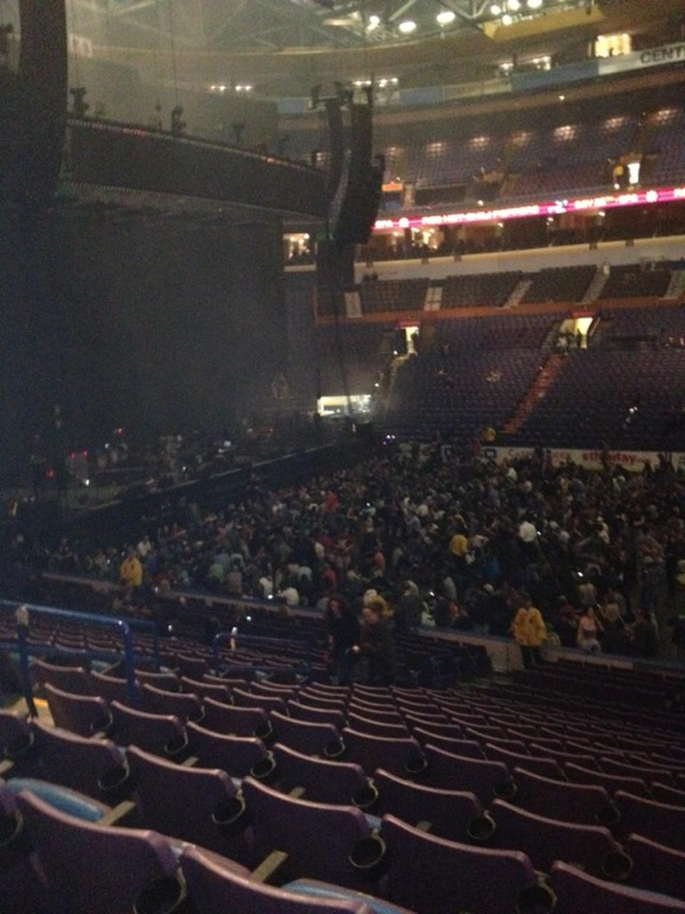 Enterprise Center Section 116 Concert Seating