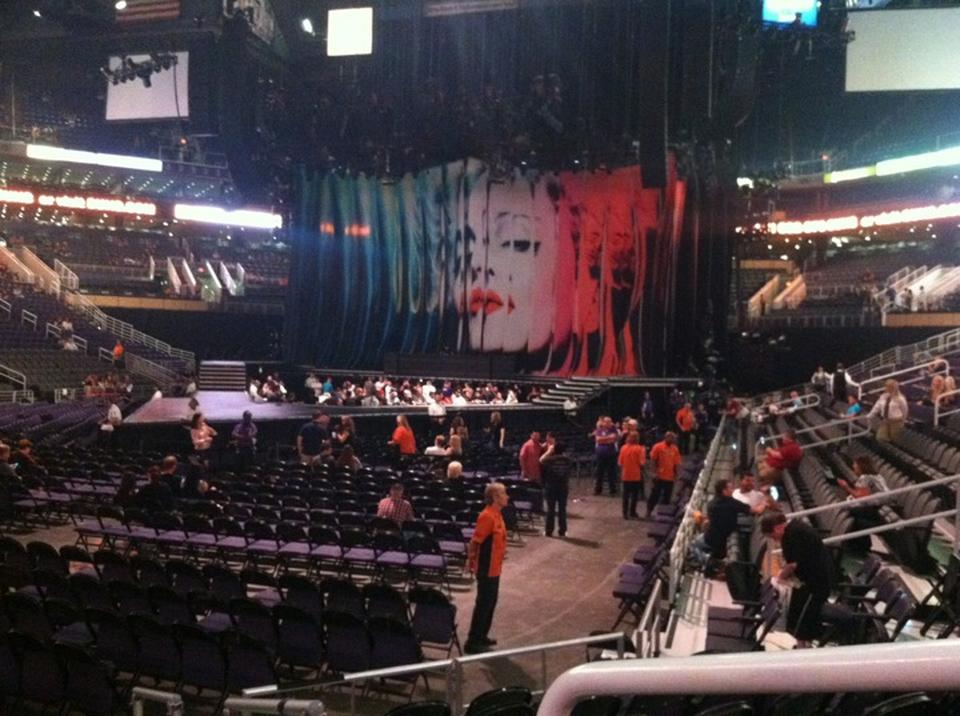 Talking Stick Resort Arena Section 106 Concert Seating