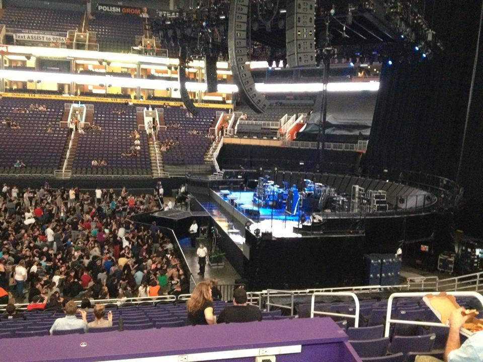 Talking Stick Resort Arena Section 101 Concert Seating Rateyourseats