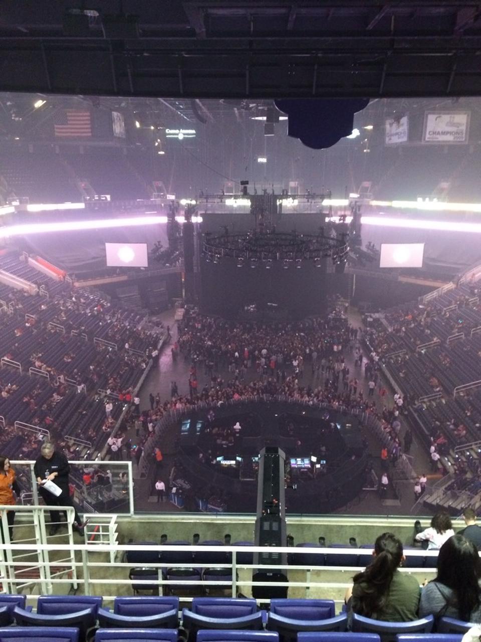 Talking Stick Resort Arena Section 211 Concert Seating