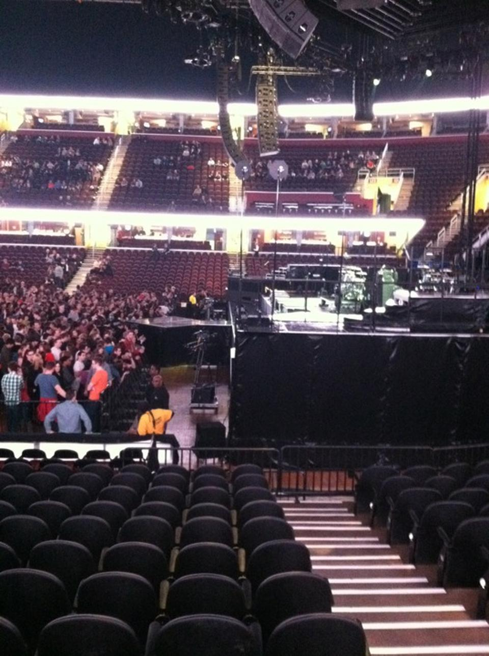 Quicken Loans Arena Section 110 Concert Seating