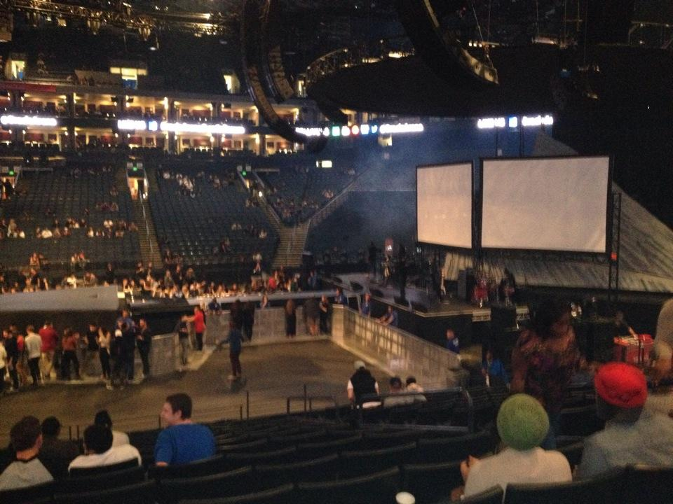 Oracle Arena Section 128 Concert Seating Rateyourseatscom