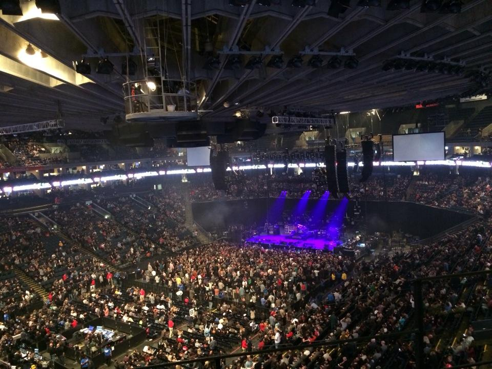 oracle arena seating view
