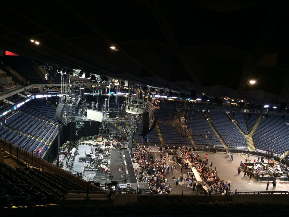 Oracle Arena Section 219 Concert Seating Rateyourseatscom