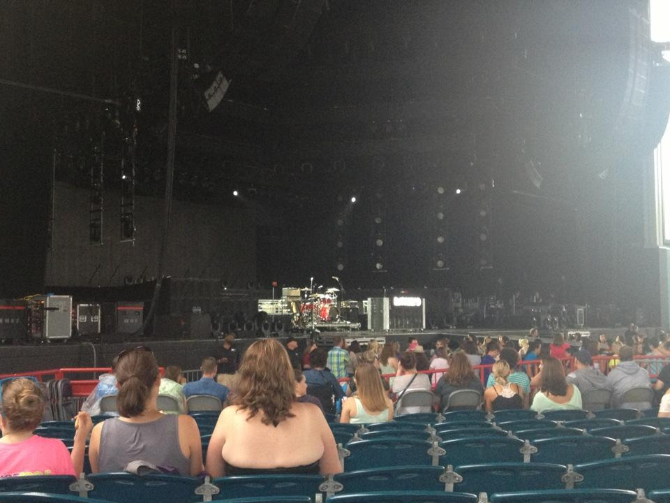 Concert Seat View For Veterans United Home Loans Amphitheater Section 103
