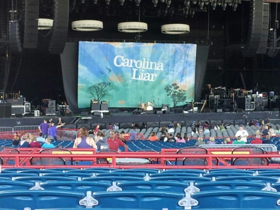 Concert Seat View For Veterans United Home Loans Amphitheater Section 204 Row R