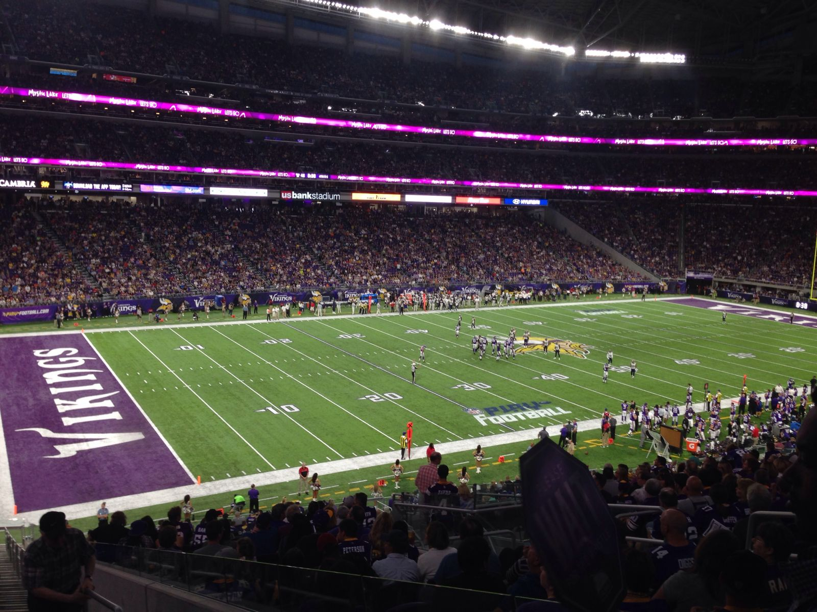 Seat View for U.S. Bank Stadium Section 136, Row 39