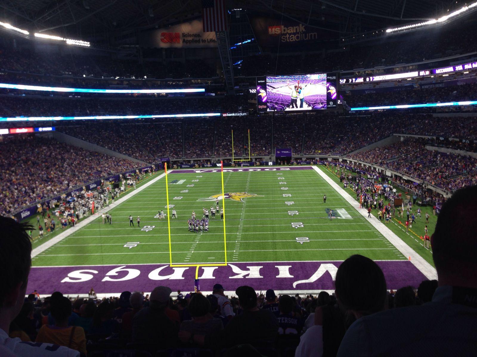 Seat View for U.S. Bank Stadium Section 141, Row 42