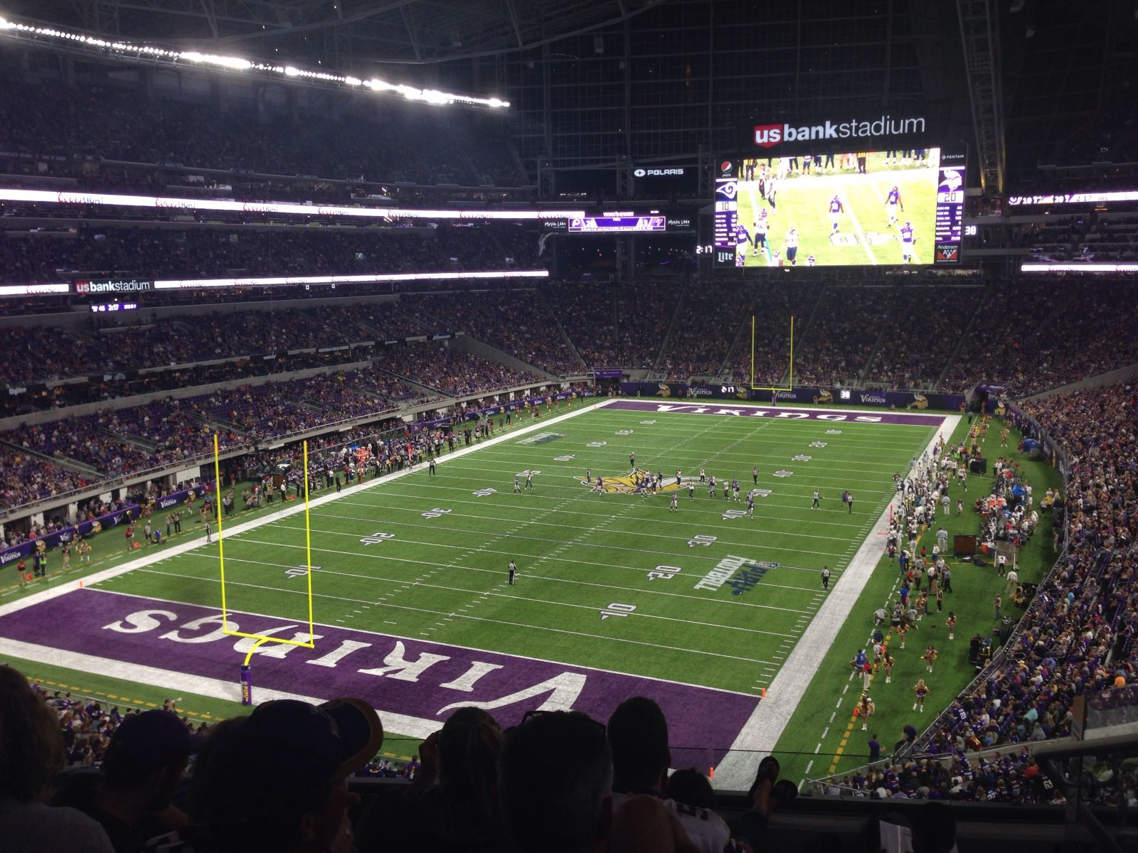 U.S. Bank Stadium : Row 6
