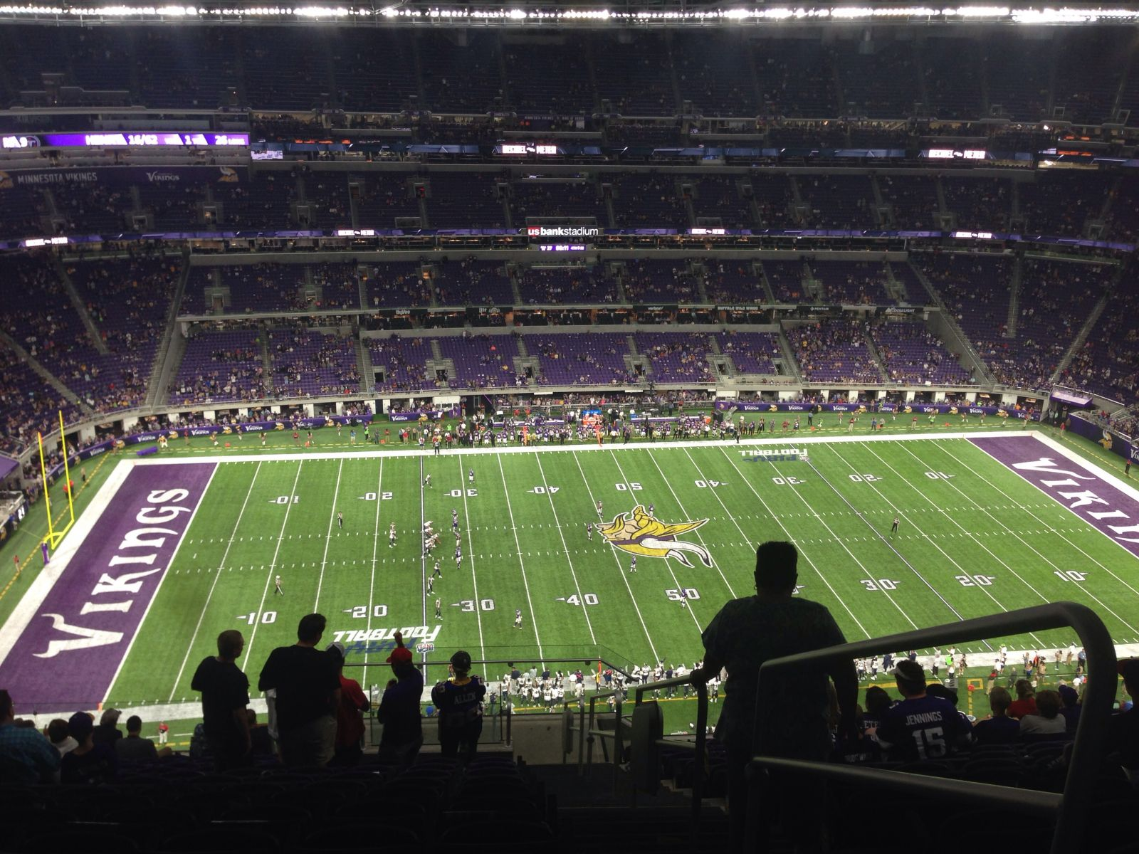 Seat View for U.S. Bank Stadium Section 313, Row 15