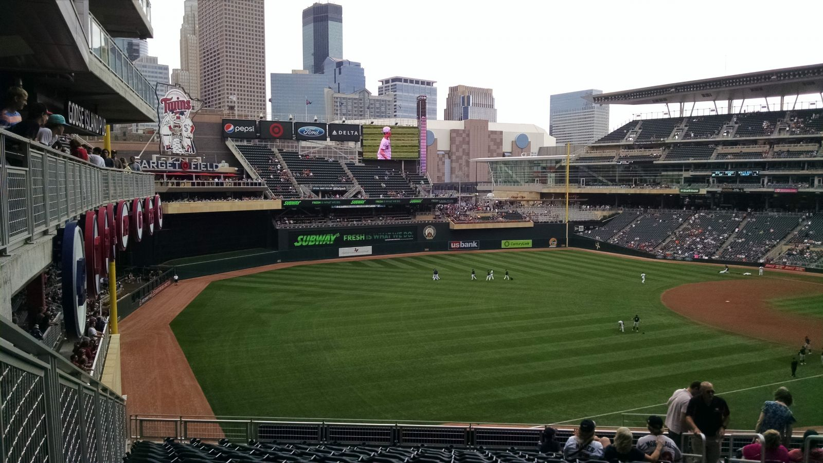 Target Field Section V - RateYourSeats.com