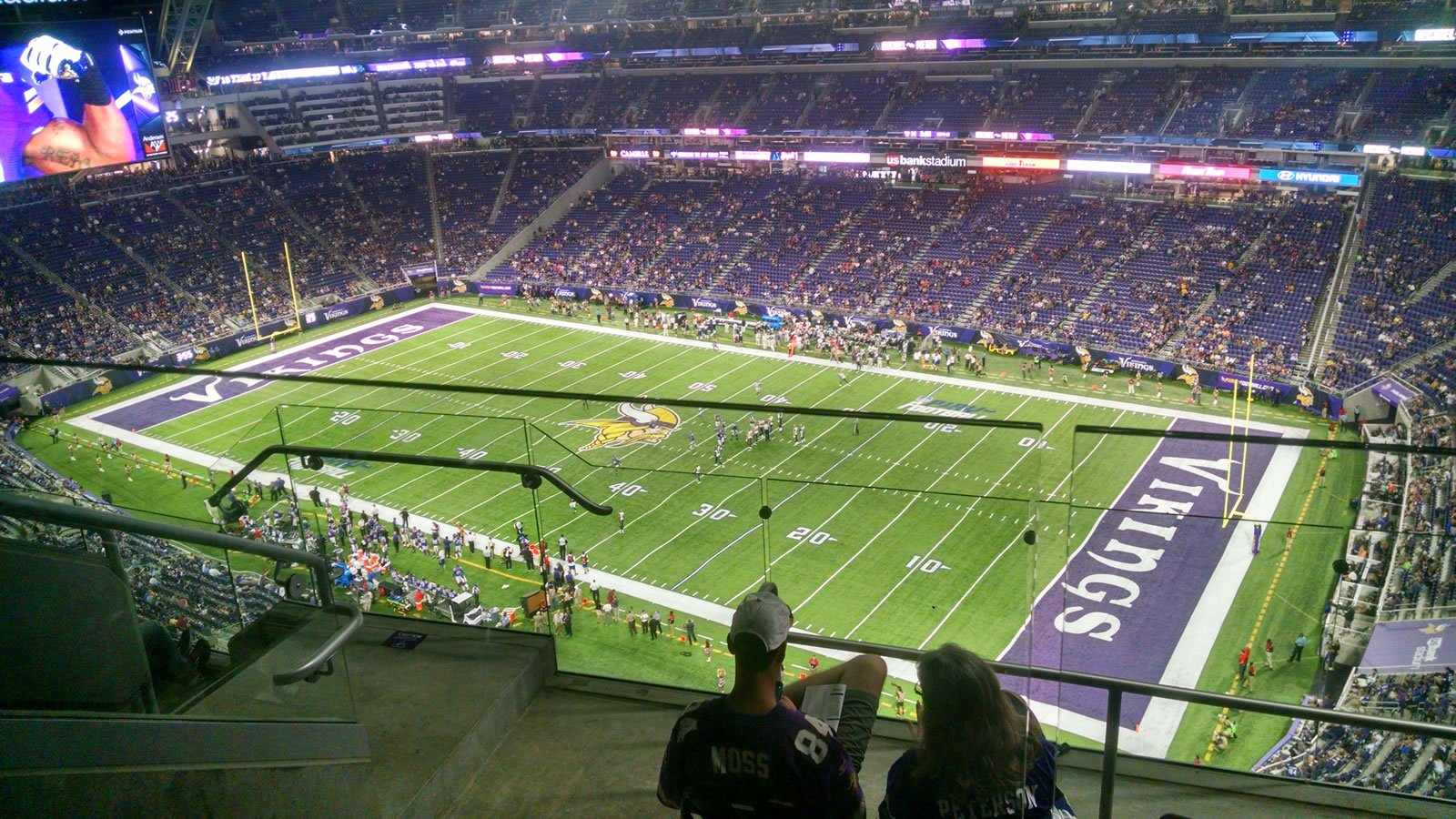 Seat View for U.S. Bank Stadium Section 336, Row 5, Seat 8
