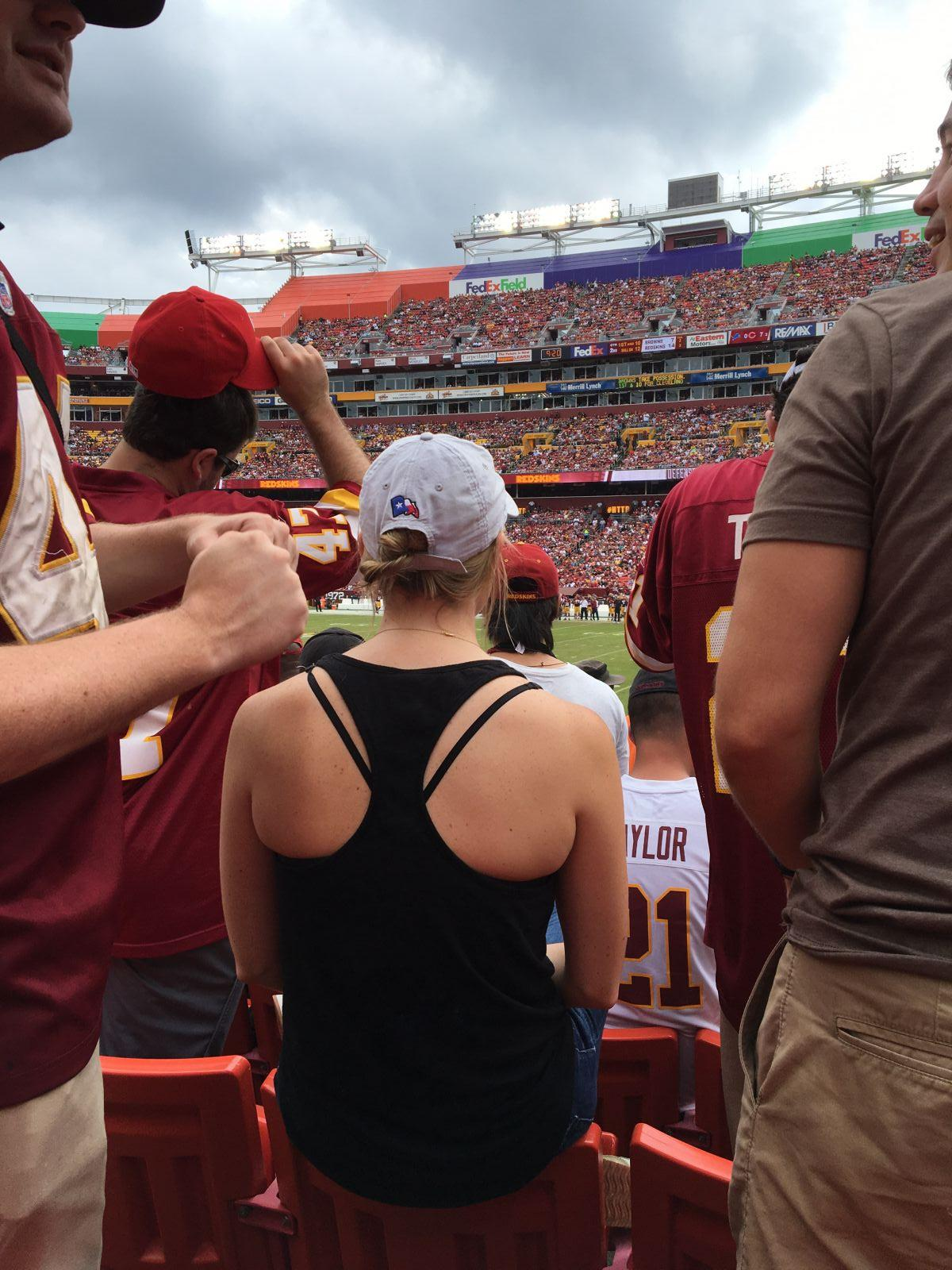 Seat View for FedExField Section 118, Row 18, Seat 16
