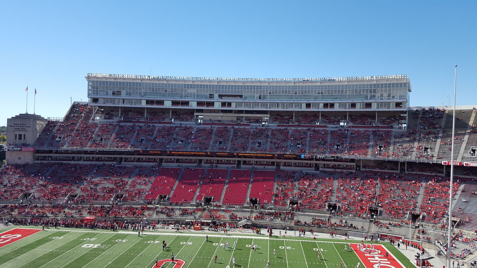 Seat View for Ohio Stadium Section 20C, Row 14, Seat 1