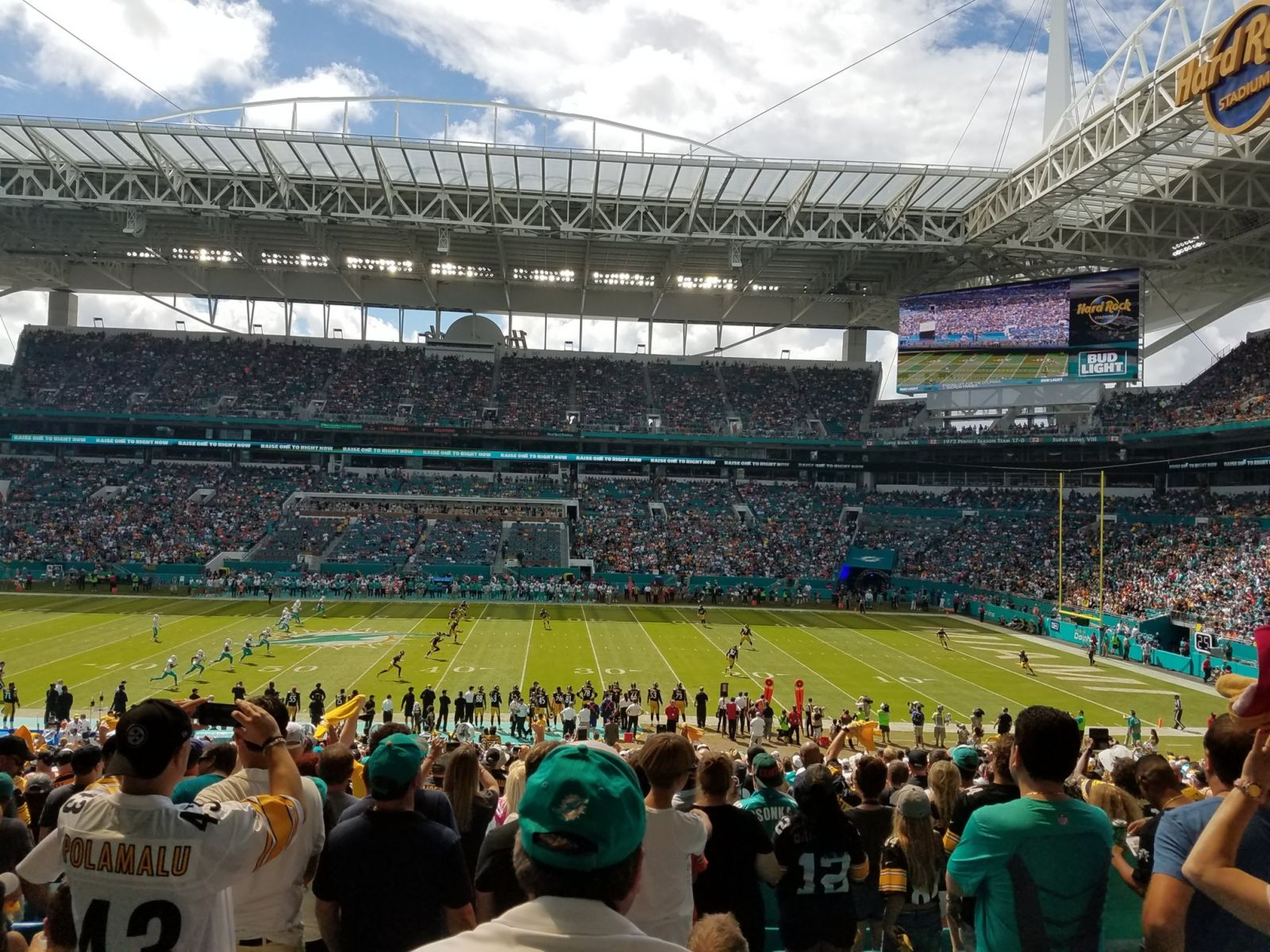 Seat View for Hard Rock Stadium Section 117, Row 39, Seat 11