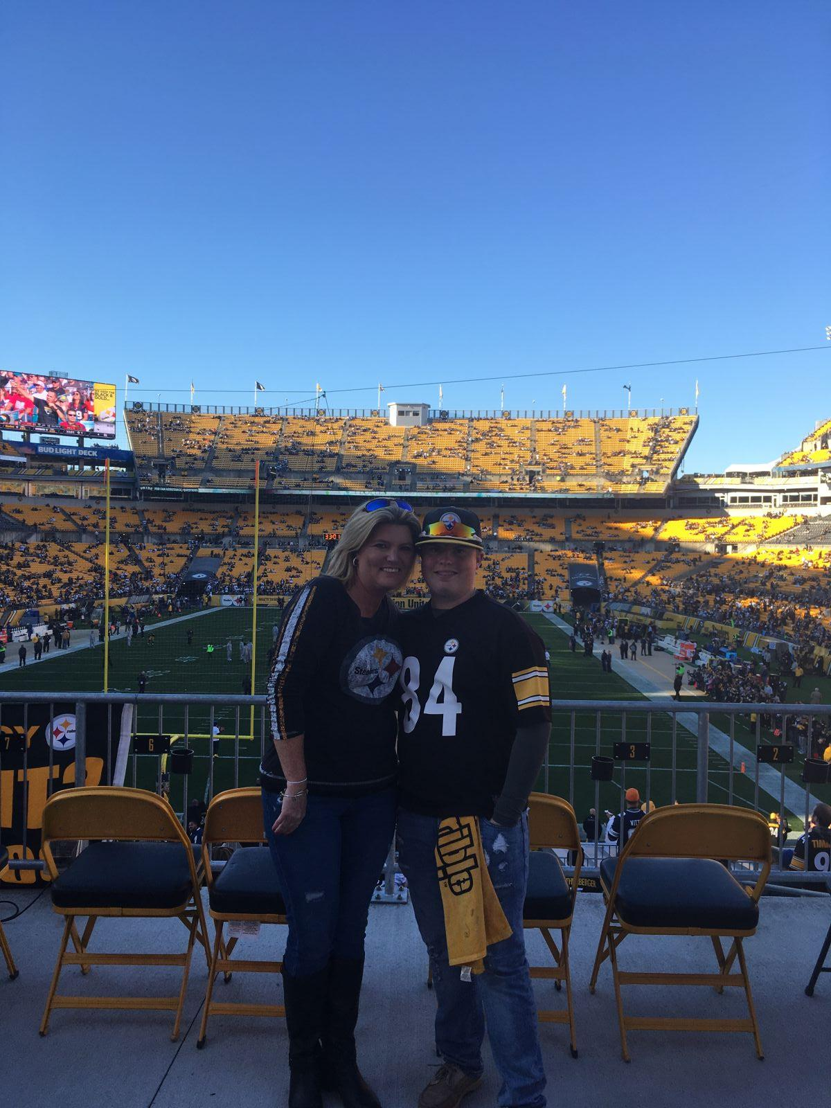 Fans Sitting Near Heinz Field Section FFZ