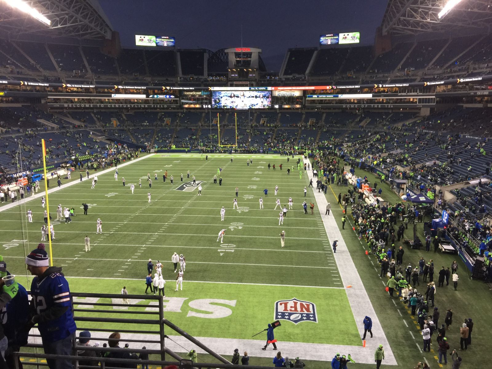 Seattle Seahawks Seat View for CenturyLink Field Section 146, Row Q, Seat 11