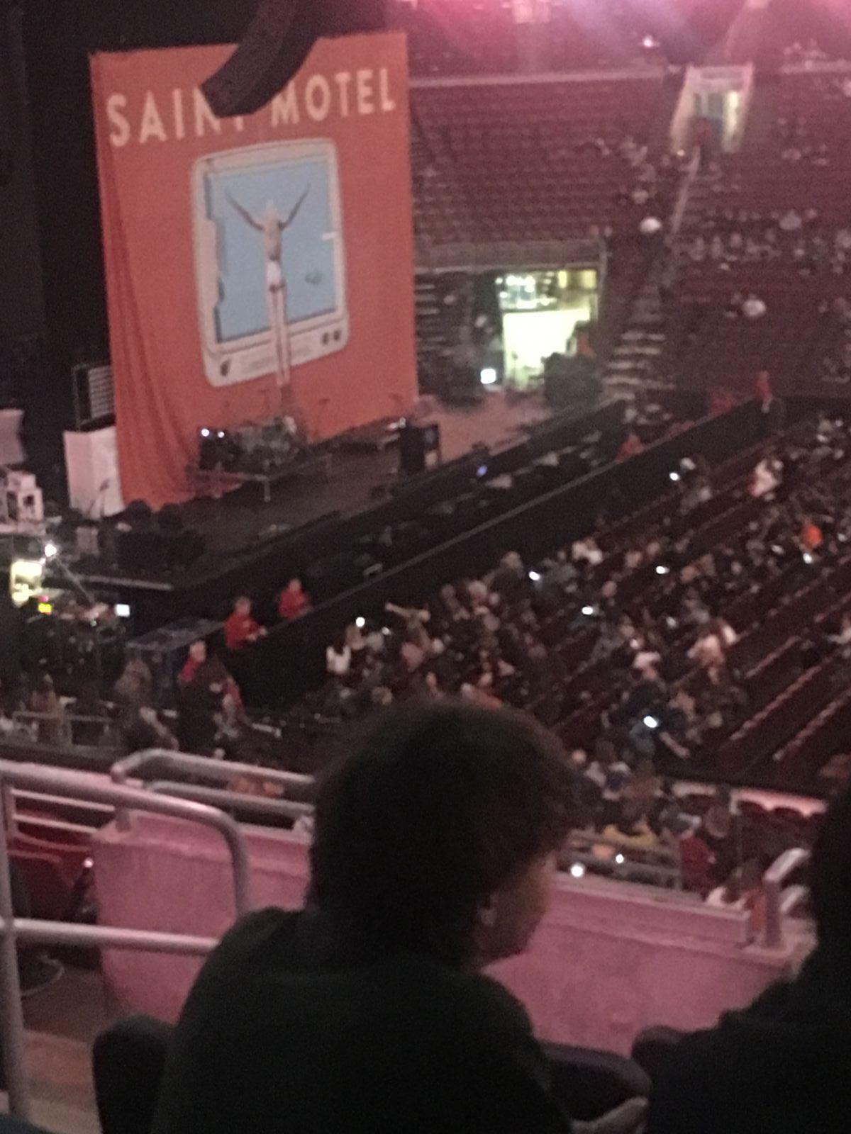 Concert Seat View for Wells Fargo Center Super Box 1, Row 6, Seat 3