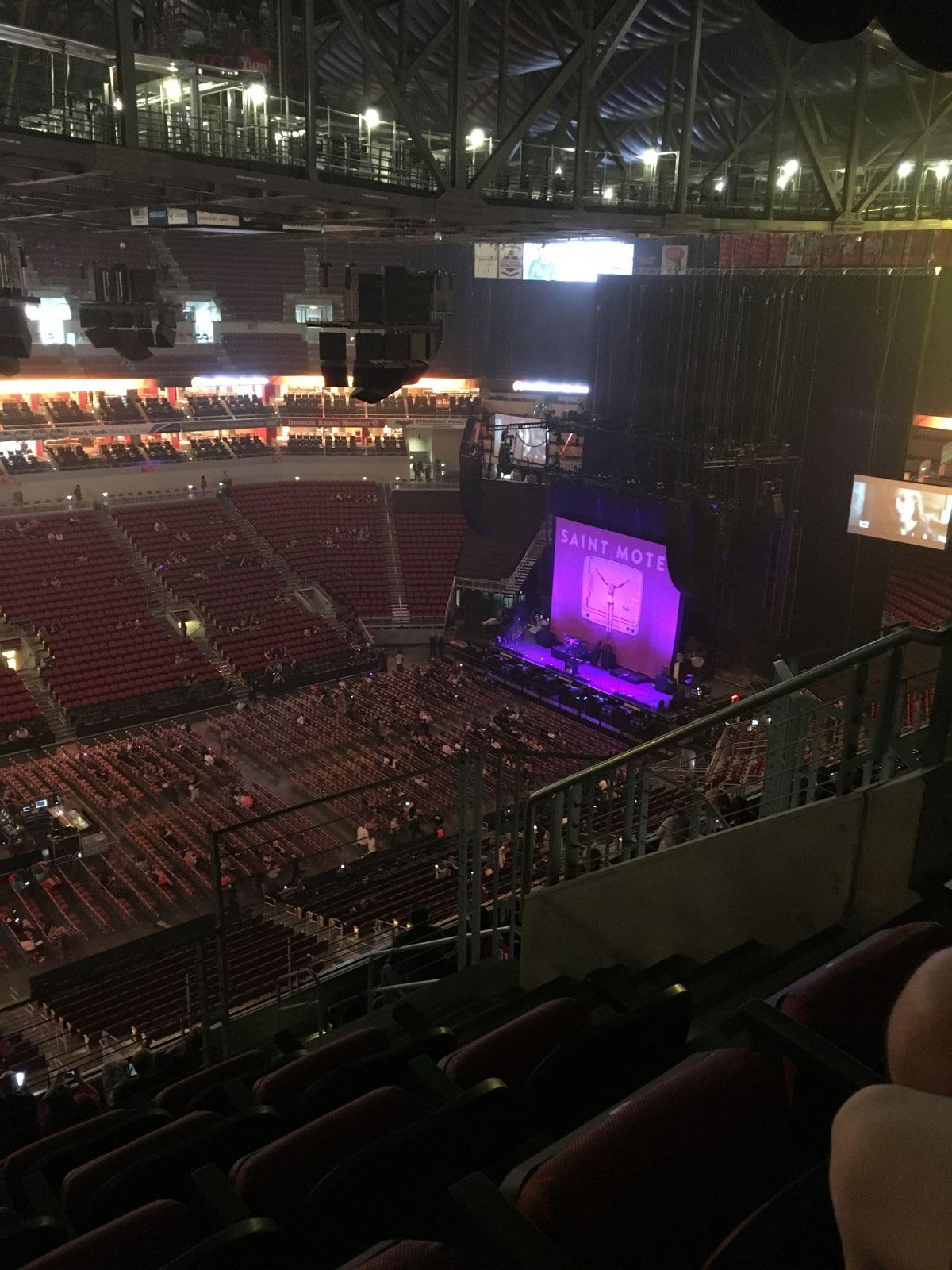 Section 310 seat view