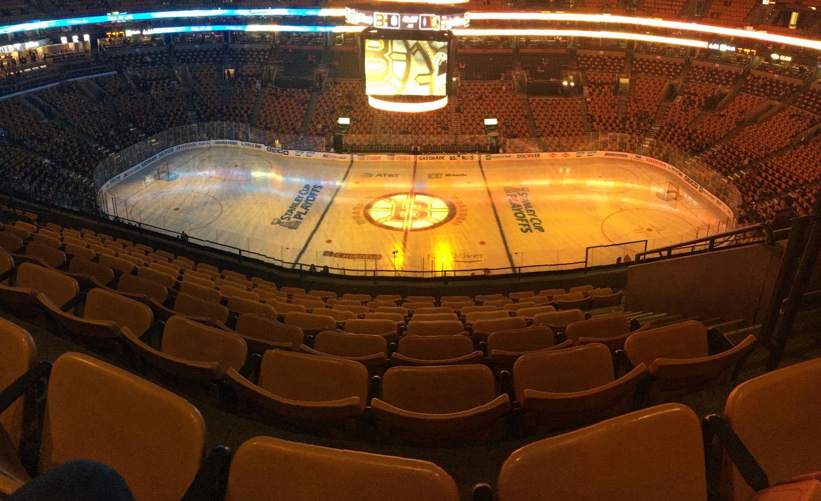 TD Garden Section 316 - Boston Bruins - RateYourSeats.com